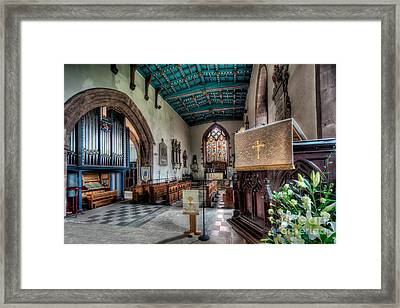 St Peters Framed Print by Adrian Evans