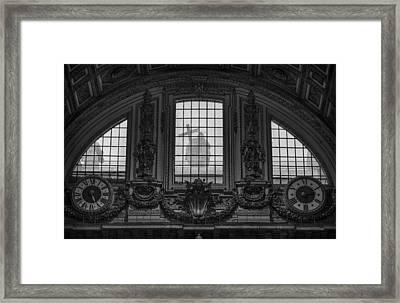 St Peter's Basilica In Vatican Framed Print