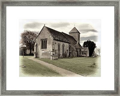 Framed Print featuring the photograph St Peters Church 1 by Paul Gulliver