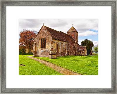 Framed Print featuring the photograph St Peters Church 2 by Paul Gulliver