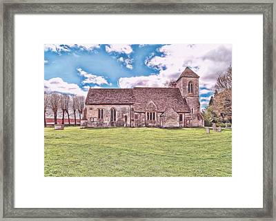 Framed Print featuring the photograph St Peters Church 3 by Paul Gulliver