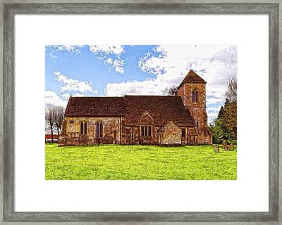 St Peters Church 4 Framed Print