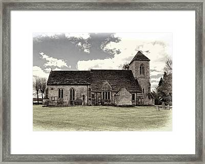 St Peters Church 5 Framed Print