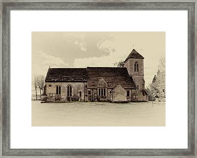 St Peters Church 6 Framed Print