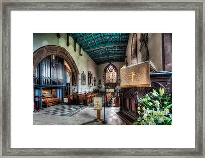 St Peter's Church Framed Print by Adrian Evans