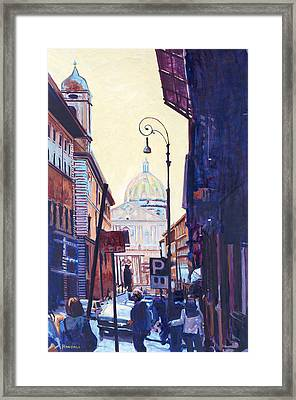 St. Peters Framed Print by David Randall