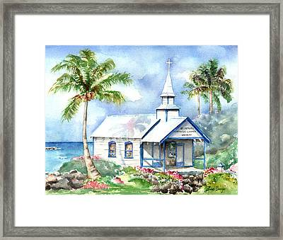 St. Peter's Framed Print by Lisa Bunge