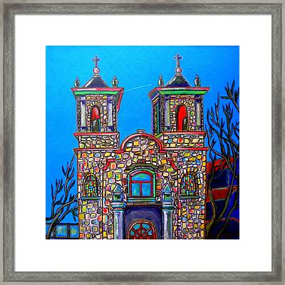 St. Peter's Framed Print by Patti Schermerhorn