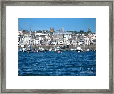 St Peters Port Guernsey  Framed Print