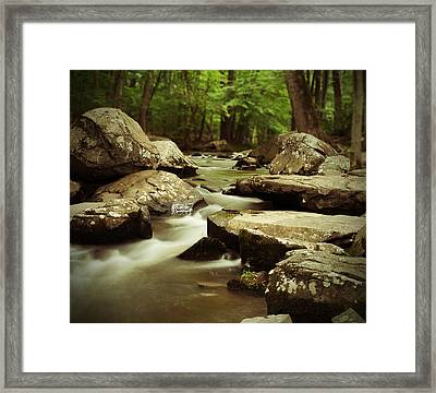 St. Peters Stream Framed Print