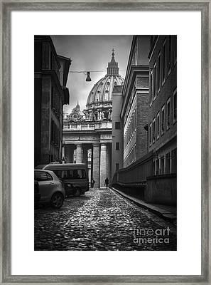 St Peters Vatican City Framed Print