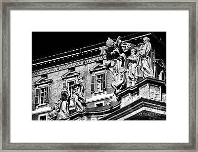 St. Peters Watchers Framed Print by John Rizzuto
