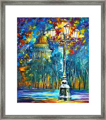 St. Petersburg New Framed Print by Leonid Afremov
