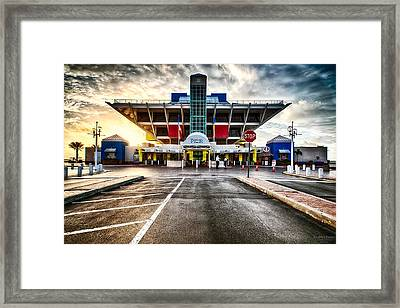 St. Petersburg Pier 05-30-2013 Framed Print
