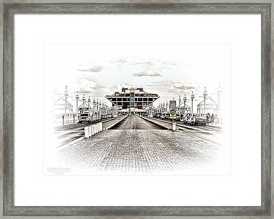 St. Petersburg Pier Dec 2011  Framed Print