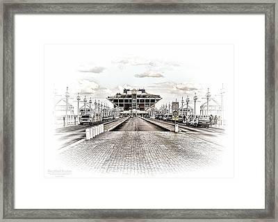 St. Petersburg Pier Dec 2011  Framed Print by Michael White