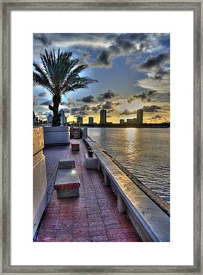 St. Petersburg Pier Framed Print