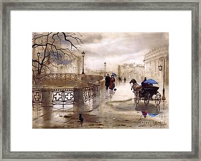 St. Petersburg Framed Print