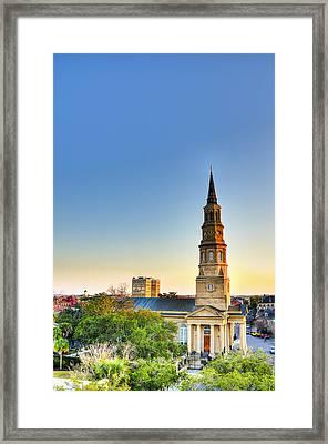 St. Phillips Church Framed Print by Drew Castelhano