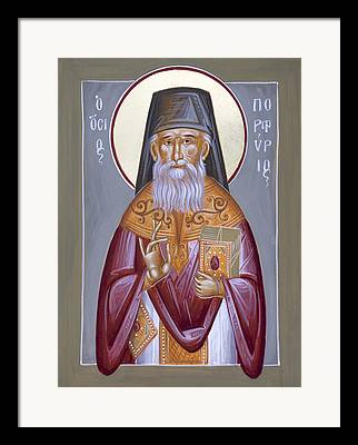 St Porphyrios Paintings Framed Prints