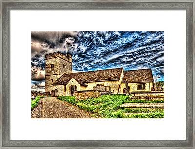 St Sannans Church Bedwellty Framed Print