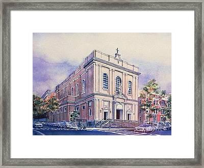 St Saviors Church  Framed Print