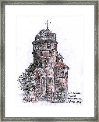 St. Sebastian Church Framed Print