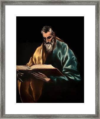 St Simon Framed Print by Mountain Dreams