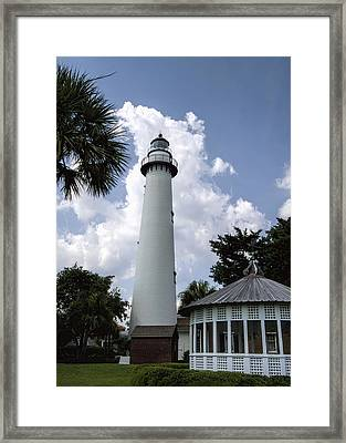 St. Simon's Island Georgia Lighthouse Framed Print