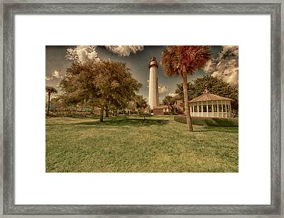 St. Simon's Island Lighthouse Framed Print
