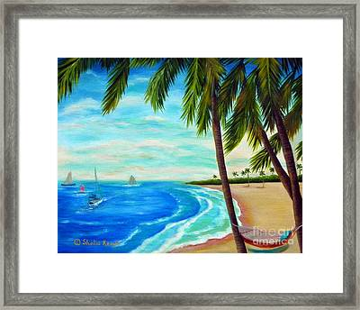 St. Somewhere Framed Print by Shelia Kempf