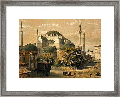 St. Sophia Framed Print by Celestial Images