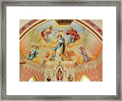St. Stanislaus Church Framed Print by Cindy Croal