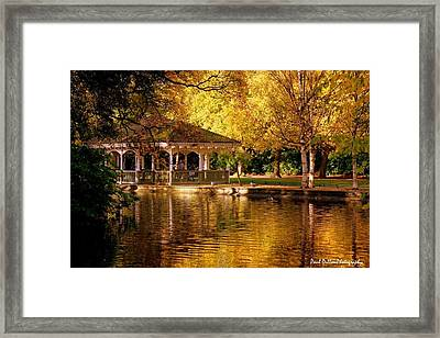 St Stephen Green Dublin Framed Print by Paul Dillon