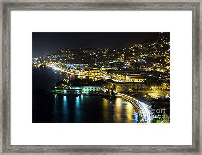 St. Thomas At Night Framed Print by Eyzen M Kim