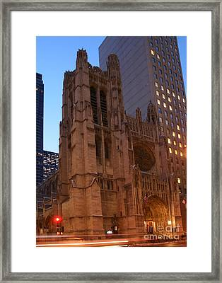 St Thomas Episcople Church Framed Print