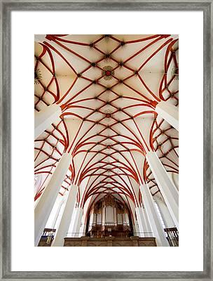St Thomas Leipzig Framed Print