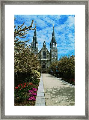 St Thomas Of Villanova Framed Print