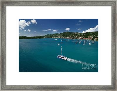 St Thomas Usvi Framed Print by Amy Cicconi