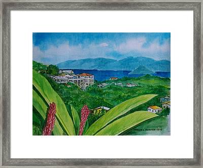 St. Thomas Virgin Islands Framed Print
