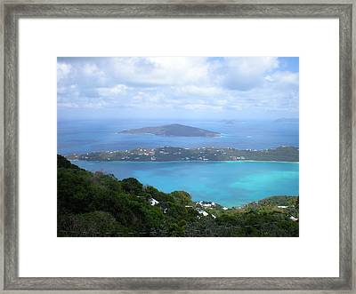 St-thomas Virgin Islands Usa Framed Print by Danielle  Parent