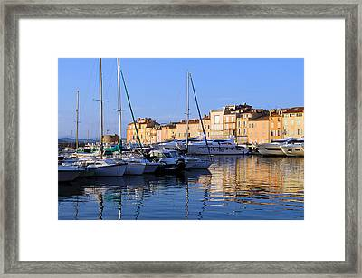 St. Tropez - France Framed Print by Haleh Mahbod