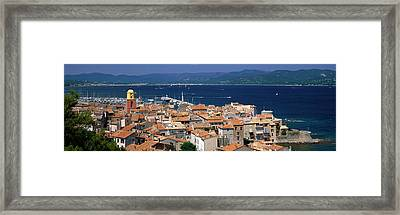 St Tropez, France Framed Print