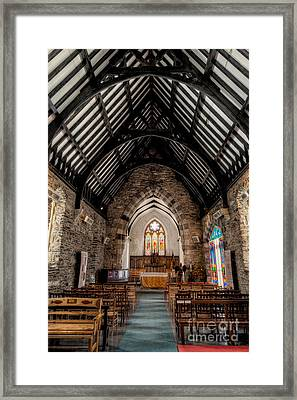 St Tudcluds Church Framed Print by Adrian Evans