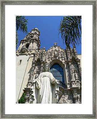 St. Vincent De Paul Church Framed Print by Jeff Lowe