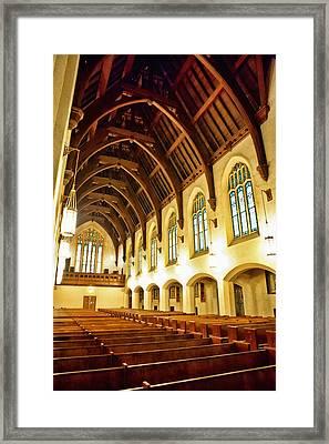St. Vincent De Paul Church Framed Print