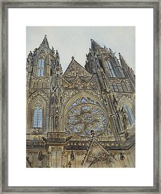 St. Vitus Cathedral Framed Print