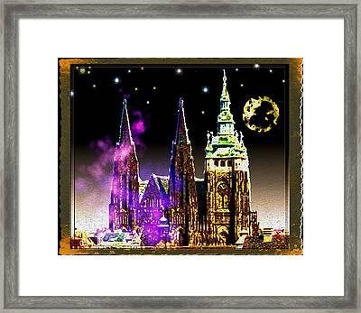 St. Vitus Cathedral Prague Framed Print