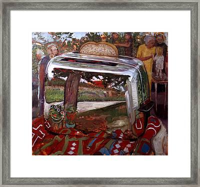 St006 Framed Print