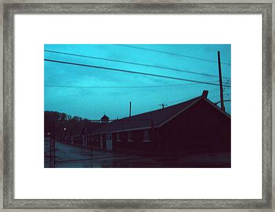 Stables Framed Print by Cynthia Harvey